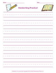 best 25 handwriting practice paper ideas on printing