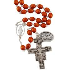 franciscan crown rosary 7 decade franciscan seraphic rosary the catholic company