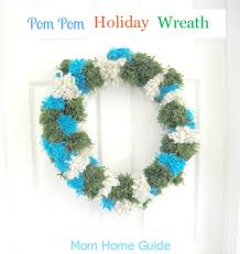 Homemade Pom Pom Decorations Diy Pom Pom Wreath Ask Anna