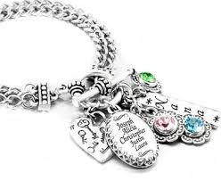 s day bracelets with birthstones personalized s birthstone jewelry s bracelet
