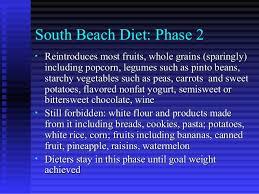 south beach diet phase 2 food list tidal treasures