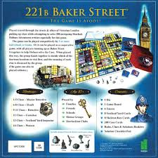 amazon com deluxe 221b baker street board game 200 intriguing amazon com deluxe 221b baker street board game 200 intriguing adventures 2 6 players baby