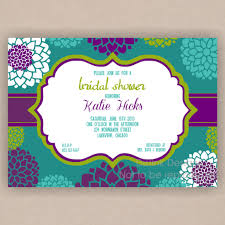 registry bridal shower peacock bridal shower invitations etsy www aiboulder