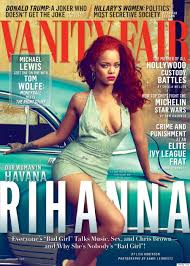 Vanity Fair Subscriptions Rihanna And Her Fiery Red Hair Front Vanity Fair U0027s November Issue