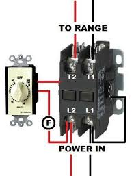 wiring a contactor on a timer doityourself com community forums