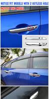 lexus door handle key cover fit for 16 17 honda civic chrome door handle cover cap catch trim