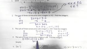 p4 1 7 intermediate algebra semester 1 final review youtube