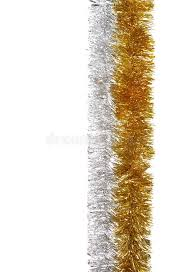 silver and gold garland stock photo image of decorations 5180392