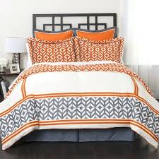 Better Homes And Gardens Rugs Bedroom Mi Zone Jonah Striped Orange Grey Comforter Set Free