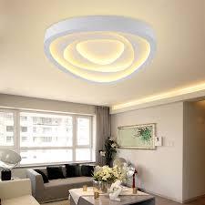 eclairage chambre led moderne led salon plafonniers conception acrylique le chambre