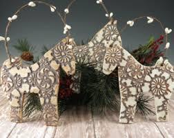 ornament gift idea handmade ceramic ornament