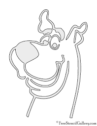 cartoon pumpkin stencil scooby doo stencil free stencil gallery