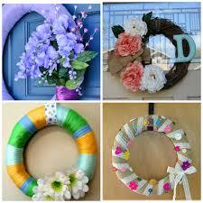 Spring Wreath Ideas Pams Party U0026 Practical Tips April 2015