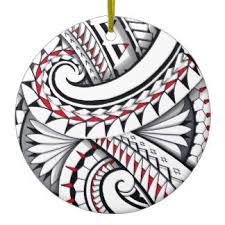 Polynesian Art Designs Polynesian Tattoo Designs Ornaments U0026 Keepsake Ornaments Zazzle