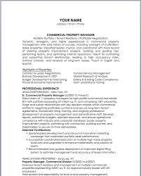 Leasing Manager Resume Sample by Property Manager Resume Sample Haadyaooverbayresort Com
