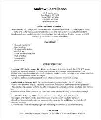 Market Research Resume Examples by Seo Resume Template U2013 12 Free Samples Examples Format Download