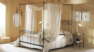 Metal Frame Canopy Bed by Sleep Like A Royal Family In A Canopy Bed Frame Midcityeast