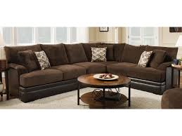 Albany Sectional Sofa Albany 8640 2 Two Tone Sectional Furniture And
