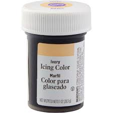 ivory gel food coloring icing color wilton