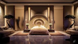 Luxury Bedroom Ceiling Design White Table Lamp On Bedside Dark by 25 Stunning Bedroom Lighting Ideas