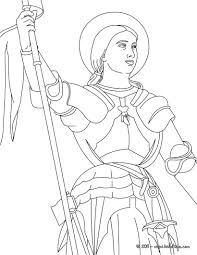 Joan Of Arc Flag Hundred Years War Clipart Joan Of Arc Clipart Pencil And In
