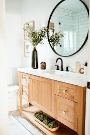 how to organize small bathroom cabinets nine ways to organize your bathroom counter martha stewart