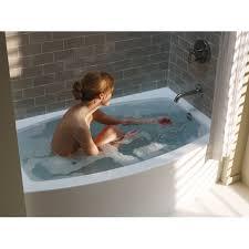 kohler k 1118 la 0 expanse white soaking tubs tubs whirlpools