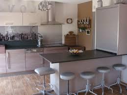 cuisine ouverte avec comptoir comptoir bar cuisine meuble