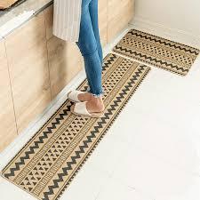 läufer küche nationalen stil dreieckige geometrische muster küche teppich