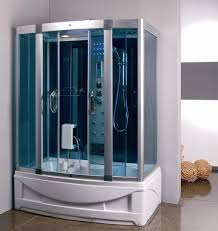 steam shower room with deep whirlpool tub 9004 constar usa steam shower room with deep whirlpool tub 9004 image 1