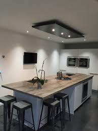 lustres pour cuisine cuisine design ilot central 14 lustre moderne en acier aix en