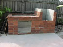 fire pit made of bricks brick barbecue 21 steps with pictures