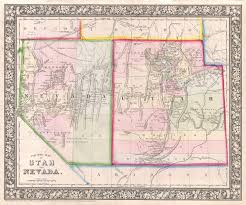 Utah Cities Map by Nevada Utah Map New York Map