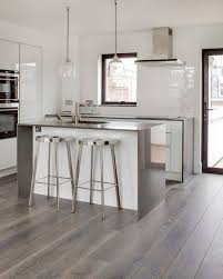 grey kitchen floor ideas grey hardwood floors ideas modern white kitchen design stainless