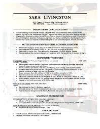 sample interior design resume u2013 topshoppingnetwork com