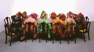 The Barnes Foundation Controversy Scramble For Africa By Yinka Shonibare Mbe Credit Photograph 2012 The Barnes Foundation Jpg