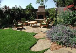 Patio Landscaping Ideas by Backyard Simple Look Backyard Landscape Ideas With Interesting