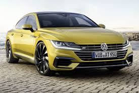 volkswagen 2017 white vw arteon revealed in full 2017 u0027s passat cc by car magazine