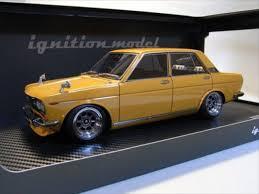 nissan bluebird ignition model 1 18 datsun nissan bluebird sss 510 brown ig0614