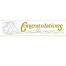 Congratulation Banner Wedding Banner