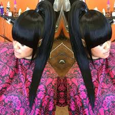 weave ponytail with it weave ponytails you to see to believe