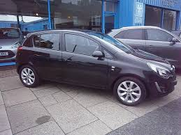 vauxhall black vauxhall corsa 1 2 excite ac cdti ecoflex 5dr manual for sale in