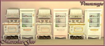 shabby chic kitchen at maruska geo sims 4 updates