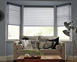 White Venetian Blinds Bedroom Fantastic And Good Bay Window Blinds Wearefound Home Design