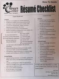 Resume Checklist Acdemic Resume Community Affairs Coordinator Resume Professional