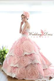 Ivory Wedding Dresses Pink Wedding Dresses