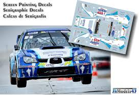subaru rally decal eric brunson subaru impreza wrc rally touquet 2013 rally