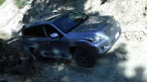infiniti qx56 vs lexus lx470 lx 570 crawl control try out youtube