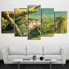 Home Decoration Paintings Online Buy Wholesale Abstract Fish Paintings From China Abstract