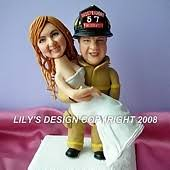 firefighter cake toppers custom career or occupation cake toppers ideas with special